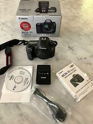 Canon EOS 5D Mark IV 30.4MP Digital SLR Camera - (Body Only)592,582 Actuations