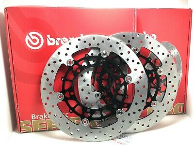 Brake Disc Floating Brembo Oro Front for Bmw R 100 Gs 1000 1987 /> 1995