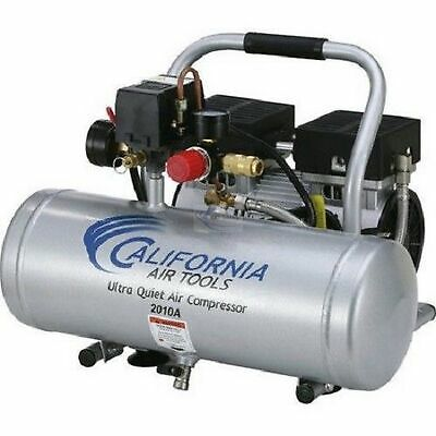 NEW California Air Tools 2010A 1 HP 2 Gal. Aluminum Air Compressor Ultra Quiet