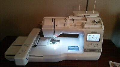 Used Brother Innovis NQ1400E Embroidery Machine Spool Holder Accessories MORE!