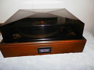 Elac Benjamin/Miracord 50H 4-Sp Automatic Turntable with Manual EX Condition