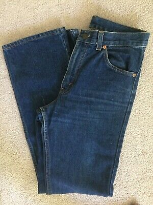 """Women's 70s Levi's Vintage Stock Blue """"Student"""" High Waisted Jean XS/S"""
