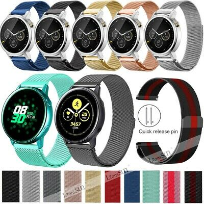 20/22mm Milanese WristWatch Band Strap For Huawei Watch GT Gear S2 S3 Frontier