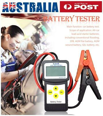 MICRO-200 Car Battery Load Tester 12V Analyzer 30-200Ah Lead-acid EFB/AGM/GEL AU