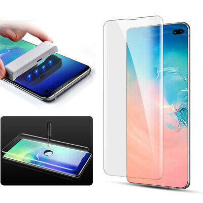 MOCOLO Full Tempered Glass Screen Protector UV Film for Samsung Galaxy S10 Plus