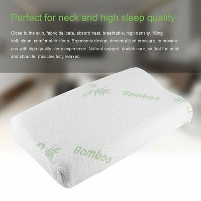 1 PACK Queen Hot Bamboo Pillow Memory Foam Hypoallergenic Cool Comfort NEW A1