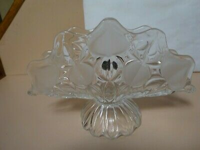 BOHEMIA CRYSTAL .Letter holder.Made in Czechoslovakia.