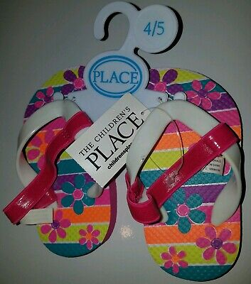a821360752d0 The Children s Place baby Toddler Girls Flip Flop Sandals NWT Size ...