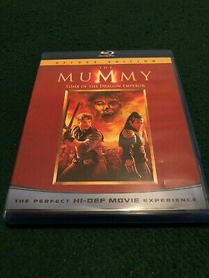 The Mummy: Tomb of the Dragon Emperor (Blu-ray Disc, 2008, 2-Disc Set)