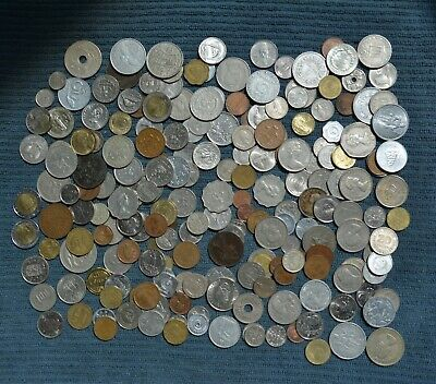 Coin Collection Over 200  World Coins