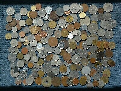 Coin Collection Over 200 Different World Coins