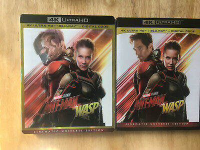 ANT MAN AND THE WASP 4K UHD + Bluray + Lenticular cover