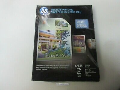 HP TRI-FOLD BROCHURE Paper Letter 8 5 Inch x 11 Inch Glossy