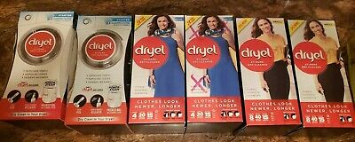 HUGE LOT Dryel At-Home Dry Cleaner includes starter kits and refills free ship