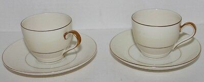 VTG Set 2 THEODORE HAVILAND CHINA, BROOKFIELD PATTERN DEMITASSE CUPS AND SAUCERS