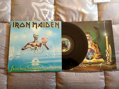 Iron Maiden Seventh Son Of A Seventh Son Lp 1988 Holland 1St Press Heavy Metal