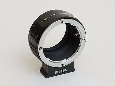 Metabones Olympus OM to Sony E mount adapter