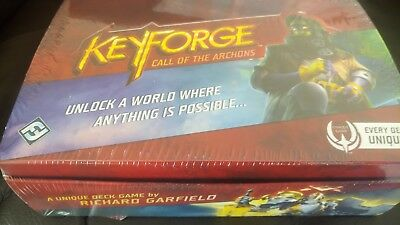 1 Case KeyForge - Call of the Archons - Booster Display 12 Individual Decks