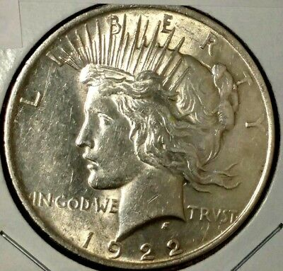 1922-P $1 Liberty Peace Silver Dollar 18lwct1006 90% Silver  $1.00 Shipping