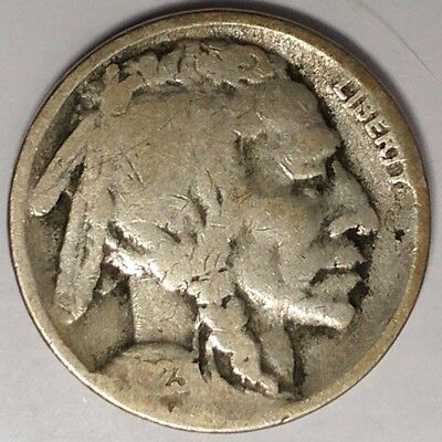 """1923-S 5C Buffalo Nickel, 17rr1810 """"Only 50 Cents for Shipping"""""""