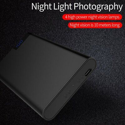 H11Small Invisible Camera Night Vision Motion Detection 1080P Clear Camera☟✌