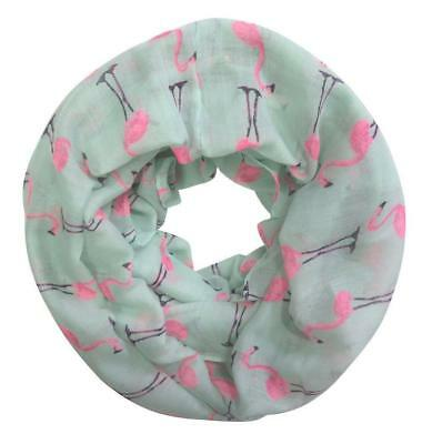 Women Long Wrap Shawl Scarves Fashion Flamingo Print Long Scarf Scarves LI