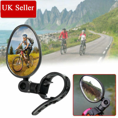MTB Cycling Bike Bicycle Handlebar Flexible Safe Rearview Rear View Mirror