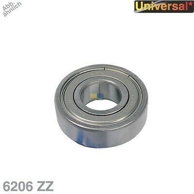 Deep Groove Bearings Ball 30x62x16mm Dustproof Universal Original NTN SNR 6206