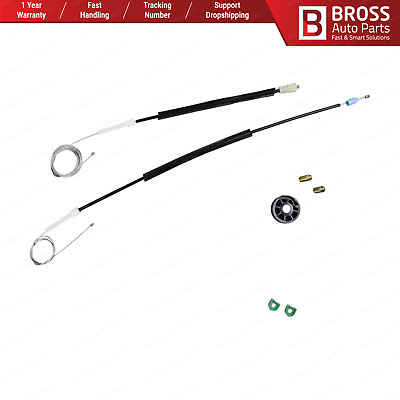 Window Regulator Repair Kit Front Left Door Driver for Volvo C70 Coupe 1998-2002