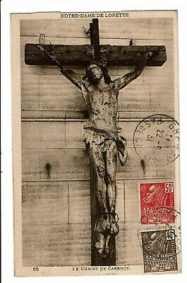 CPA-Carte postale-France -Carency - Son Christ -1931  -  VM1446