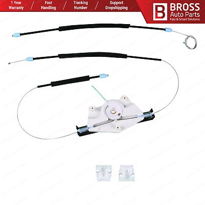 Window Regulator Repair Kit Front Right Door for VW Bora Golf MK4 1997-2003