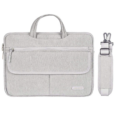 MOSISO Laptop Shoulder Bag Compatible with MacBook Air 13.3, 13 Inch MacBook Pro