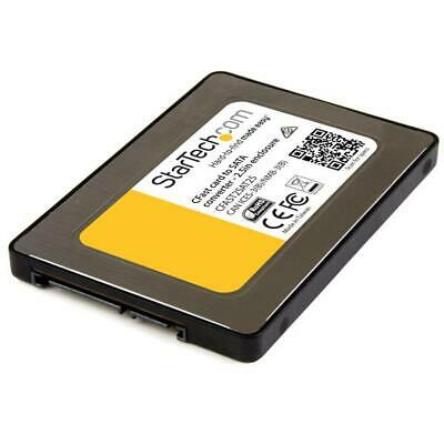 """StarTech CFAST2SAT25 CFast Card to SATA Adapter with 2.5"""" Housing"""