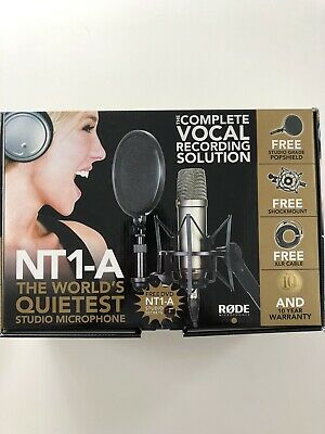 Rode NT1 - Complete Vocal Recording