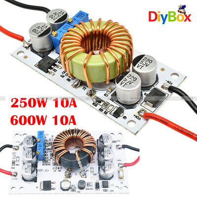 250/600W 10A Step Up DC Boost Converter Constant Current Power Supply Module DIY