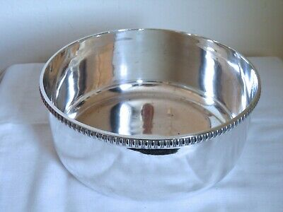 Large Vintage Silver Plated Bowl James Dixon Sheffield