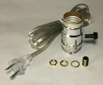 VINTAGE TABLE LAMP Rewiring Kit w/ Nickel Plated 3-Way Socket, Clear on welding a lamp, rewiring lamp parts, rewire a lamp, design a lamp, rewiring lamp fixture, soldering a lamp, paint a lamp, wire a lamp, repair a lamp, rebuilding a lamp, rewiring radio, diy pipe lamp, polishing a lamp, lights a lamp, repainting a lamp, plastering a lamp,
