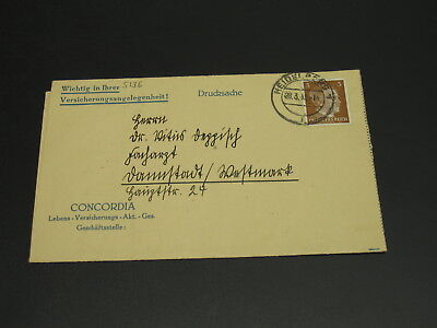 Germany 1942 cover *5136