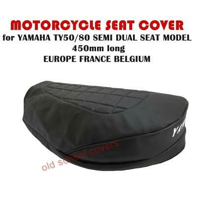 YAMAHA TY50 TY50M  SEAT COVER SEMI DUAL 450mm EUROPE BELGIUM FRANCE