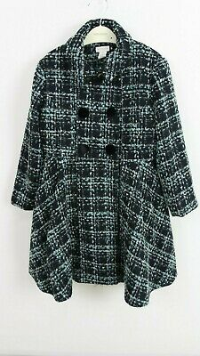 Monsoon Children's Girls Tweed Multi Blair Winter Coat Jacket AGE 1 To 13 YRS