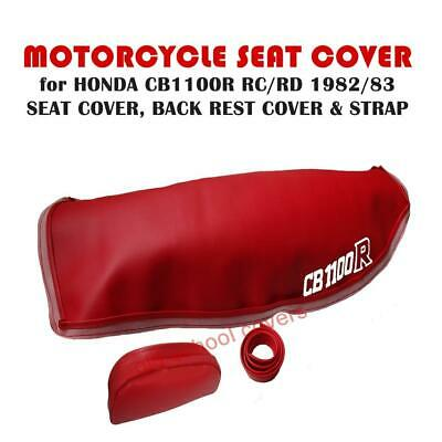 Honda Cb1100R Cb1100 R Rc Rd 1982 83 Motorcycle Seat Cover Strap Backrest Cover
