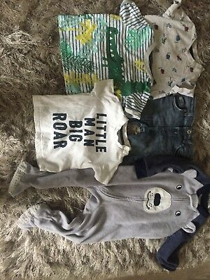 Excellent Boy Bundle, Nike Air,Carter,River Island Jeans Very Cute F&F T Shirts