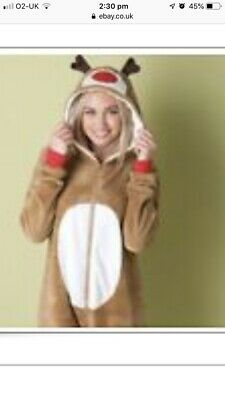 Reindeer Outfit Christmas Jumpsuit Sleepsuit All In One ASOS