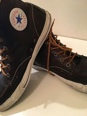e4dca2c394b8 Converse Chuck Taylor All Star Hiker High Top Leather Moc Toe Sneakers Size  13