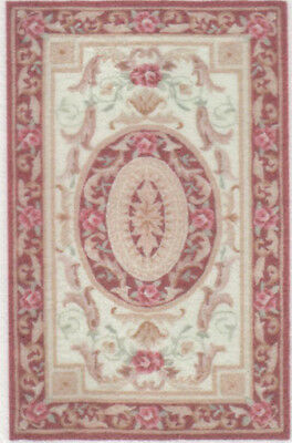 "1:48 Scale Dollhouse Area Rug 0001913 - approximately 1-7/8"" x 2-15/16"""