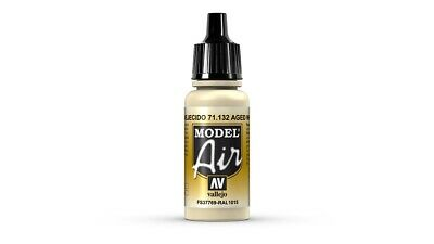 (VAL132) - AV Vallejo Model Air 17ml  - Aged White