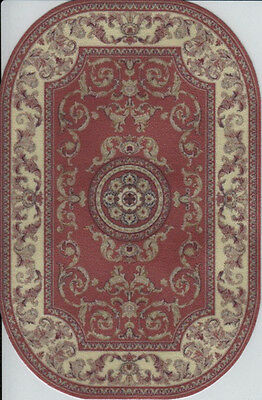 """1:12 Scale Dollhouse Area Rug Oblong - 0001353 - approximately  4-1/16 x 6-1/4"""""""