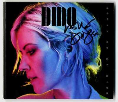 DIDO Still On My Mind cd Album Signed Autographed Faithless Limited edition
