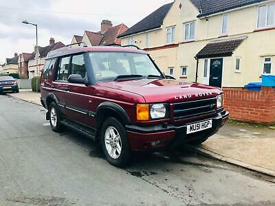 2001 Land Rover Discovery TD5 LOW MILEAGE LONG MOT