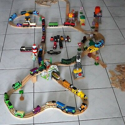 Huge Thomas the Train Wooden Track Set!